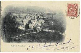 Vallée De BELONCHAMP (70) Ed. Cardot, Envoi 1903 - Andere Gemeenten