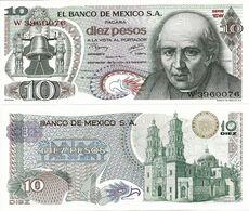MEXICO       10 Pesos       P-63i       18.2.1977       UNC  [ Serie 1DW ] - Mexiko
