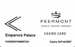 SUD AFRICA KEY CASINO   Peermont Hotel Casinos Resorts -     Sloane Park - Casinokarten