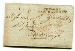 BILBAO Pour BORDEAUX LAC De 1815 PURIFICATIONS!!! (lire Le Descriptif) - 1801-1848: Voorlopers XIX
