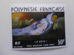 POLYNESIE   PA113 * *    TABLEAU DE GAUGUIN   LE REVE - Neufs
