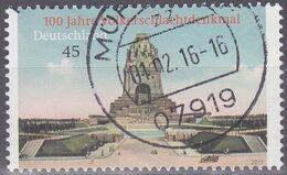 Deutschland 2013. Völkerschlachtdenkmal Leipzig, Mi 3033 Gebraucht - Usados