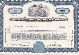 USA 1964 ACTION WESTERN MARYLAND RAILWAY COMPANY - Autres