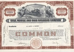 USA 1951 ACTION GULF MOBILE AND OHIO RAILROAD COMPANY - Autres