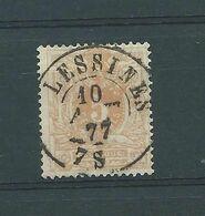 N° 28 OBLITERATION DC LESSINES - 1869-1888 Lion Couché