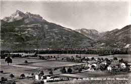 Les Dents Du Midi, Monthey Et Dents Blanches (2265) * 21. 4. 1963 - VS Valais