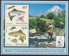 Neuseeland New Zealand 1997 - Mi.Nr. Block 76 - Postfrisch MNH - Tiere Animals Fische Fishes - Fische