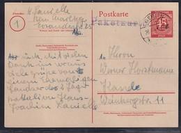 Gemeinschaftausgaben, Ganzsache Mi.-Nr. P 955 Gelaufen Als Fernkarte - Soviet Zone