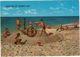 Groeten Uit Buren - Strand, Kuil, Badmode, Zee - Ameland - (Wadden, Holland) - 1974 - Ameland