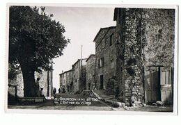 06 - GOURDON - Entrée Du Village - 1164 - Gourdon