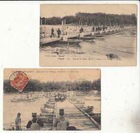 France 84 - Avignon  - Pont Sur Le Rhône Par Le 7 Eme Génie - 2 Cartes     : Achat Immédiat - Manovre