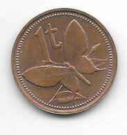*papau New Guinea 1 Toea 1975  Km 1  Bu - Papua-Neuguinea