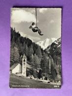 Suisse   CPSM  Petit Format   SESSEL-LIFT   PONTRESINA    Bon état - GR Grisons