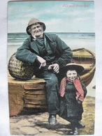 Me And Grandpa - Posted 1905 (Boy With Sailor) - Gruppi Di Bambini & Famiglie