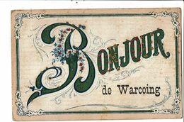 CPA-Carte Postale -Belgique-Bonjour De Warcoing-1910? VM21492dg - Pecq