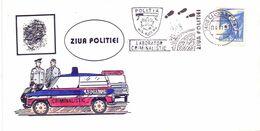ROMANIA POLITIA LABORATOR CRIMINALITIC 1993  FDC COVER   (SETT200415) - Politie En Rijkswacht