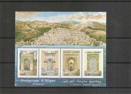 Eau - Fontaines ( 1489/1492 XXX -MNH- D'Algérie) - Water