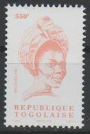 Togo 2004 - Mi. 3364 Série Courante BELLA BELLOW 550 F MNH** - Togo (1960-...)