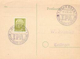 POST CARD ESSEN 1956 IPA INTERNATIONAL POLIZEI    (SETT200416) - Politie En Rijkswacht