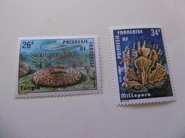 POLYNESIE   PA138/139 * *  CORAUX - Unused Stamps
