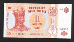 МОЛДОВА  10   1994 UNC - Moldavië