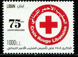 XB1378 Lebanon 2020 Red Cross 75 Years 1V - Lebanon