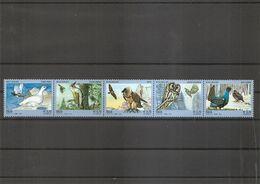 Italie - Oiseaux( 3430/3434 En Bande XXX -MNH) - 2011-...: Neufs