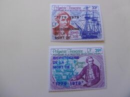 POLYNESIE   PA142/143 * *  JAMES COOK - Unused Stamps