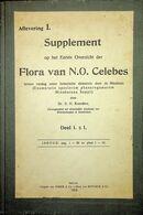 KOORDERS, S.H. Supplement Op Het Eerste Overzicht Der Flora Van N.O. Celebes, - Livres, BD, Revues