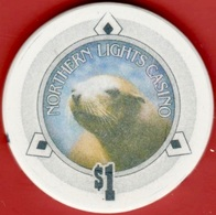 $1 Casino Chip. Northern Lights, Anacortes, WA. I92. - Casino