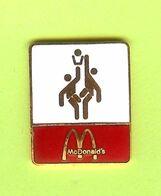 Pin's Mac Do McDonald's Sport Basketball - 5C10 - McDonald's