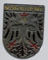 DR+ Deutsches Reich 1939 Nürnberg Stadtwappen (Metall) GH - Pin's & Anstecknadeln