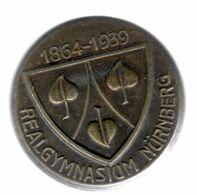DR+ Deutsches Reich 1939 Realgymnasium Nürnberg 1864-1939 GH - Pin's & Anstecknadeln