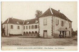 CONFLANS-sur-LANTERNE (70) Le Château Ed. Boutet - Ohne Zuordnung