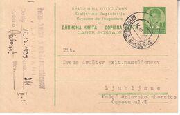 6002 I  PREVALJE--MARIBOR  AMBULANTNI  ZIG - Slovenia
