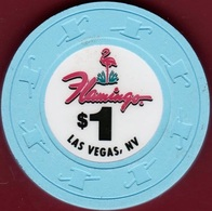 $1 Casino Chip. Flamingo, Las Vegas, NV. I95. - Casino