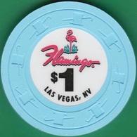 $1 Casino Chip. Flamingo, Las Vegas, NV. I97. - Casino