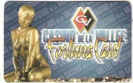 ITALIA KEY CASINO  Casino De La Vallee-Fortuna Card -     Saint Vincent - WITH MAGNETIC BAND - Casinokarten