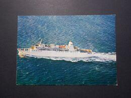 """Carte Postale - Bateau Paquebot - Ferry """"MASSALIA"""" Croisieres PAQUET (3959) - Dampfer"""