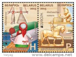 _TH_ Belarus 2015 Europa 2v Se-tenant MNH - 2015