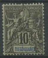 Diégo-Suarez (1893) N 42 (o) - Used Stamps