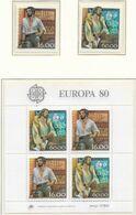 PORTUGAL 1980 EUROPA CEPT PERSONAGENS CÉLEBRES PERSONNAGES CÉLÈBRES  FAMOUS CHARACTERS - Europa-CEPT