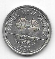 *papau New Guinea 10 Toea 1975  Km 4  Unc/ms63 - Papua-Neuguinea