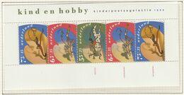 NIEDERLANDE Block 34, Postfrisch **, Für Das Kind: Hobbies 1990 - Bloks