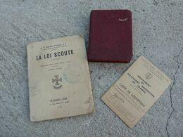 Louveteau Scout De France Carte Carnet Nanuel De Piete La Loi Scoute - 1939-45
