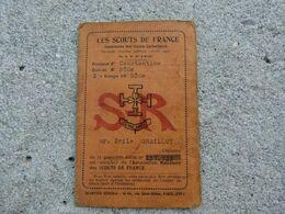 1941 Scout De France De Constantine Carte Identité - 1939-45