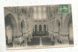 Cp , 85 , AIZENAY , Intérieur De L'église , Voyagée - Aizenay