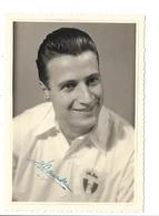 R. Antwerp F.C. Seizoen 1956-57 Kampioen Van België - Eddy Wouters (Deurne) Met Handtekening. - Voetbal