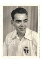 R. Antwerp F.C. Seizoen 1956-57 Kampioen Van België - Louis Huybreghs (Deurne) Met Handtekening. - Fussball