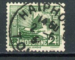 INDOCHINE RF - JONQUE - N° Yvert 156 Obli. Ronde De HAIPHONG - Oblitérés